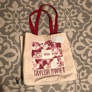 NWT Taylor Swift Meow Tote - Red Tour